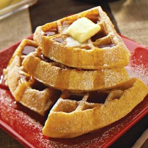 Southern Cornmeal Waffles Recipe