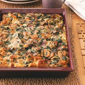 Sunday Brunch Strata Recipe