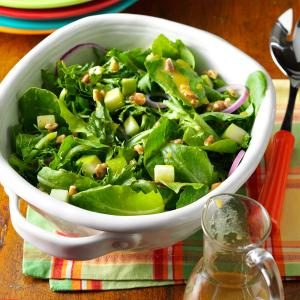 Apple Salad with Maple-Mustard Vinaigrette Recipe