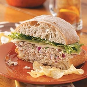 Fiesta Tuna Salad Sandwiches Recipe