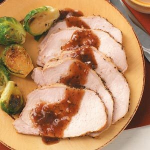 Pork Roast with Plum Sauce Recipe