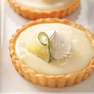 Refreshing Lime Tartlets Recipe