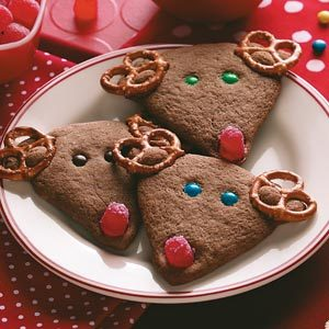 Sweet and Salty Chocolate Reindeer