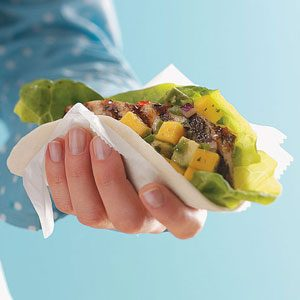 Halibut Soft Tacos for Two Recipe