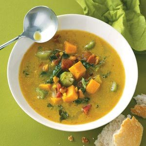 Caribbean Potato Soup Recipe
