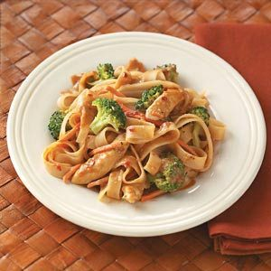 Contest-Winning Peanut Chicken Stir-Fry Recipe