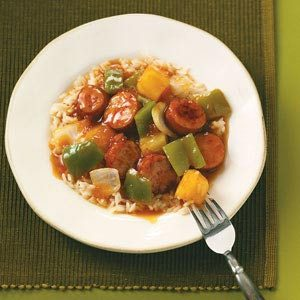 Sweet & Sour Sausage Recipe