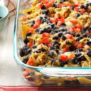 Smoky Chicken Nachos