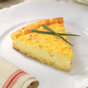Three-Cheese Quiche Recipe