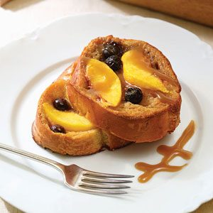 Peach-Blueberry French Toast Recipe