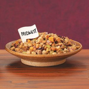 Fruited Sausage Stuffing Recipe