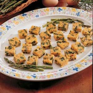 Cheesy Asparagus Bites Recipe