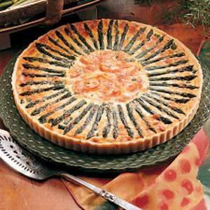Sunny Asparagus Tart Recipe