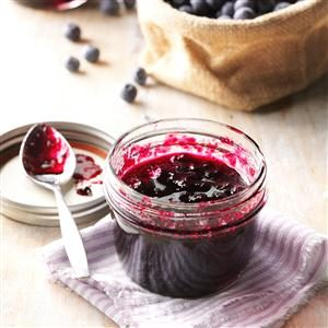 Luscious Blueberry Jam