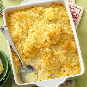 Parsnips & Turnips Au Gratin Recipe