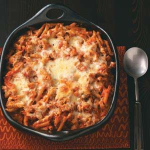 Sausage Penne Bake Recipe