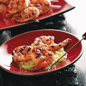 Irresistible Grilled Shrimp with Fruit Salsa