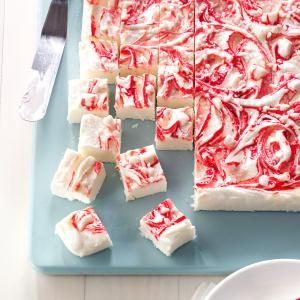Peppermint Swirl Fudge Recipe