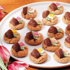 Peanut Butter Baskets Recipe