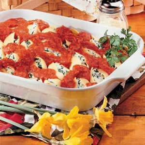 Stuffed Pasta Shells Recipe
