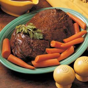 Old-Fashioned Pot Roast Recipe