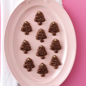 Chocolate Spritz Trees Recipe