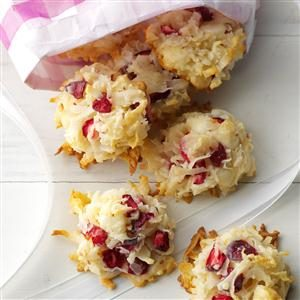 Coconut Cranberry Yummies Recipe