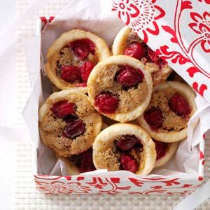 Cranberry Pecan Tassies Recipe