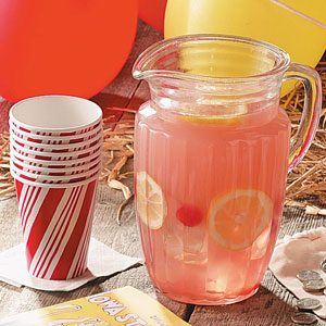 Fresh-Squeezed Pink Lemonade Recipe