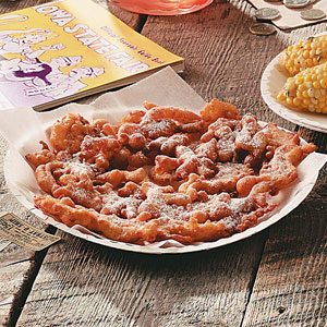 Traditional Funnel Cakes Recipe