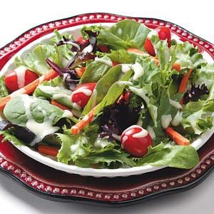 Mixed Greens with Honey Mustard Dressing Recipe