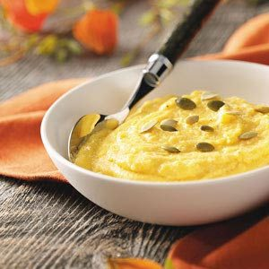 Creamy Pumpkin Polenta Recipe photo by Taste of Home