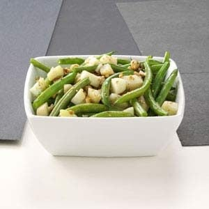 Apple-Green Bean Saute Recipe
