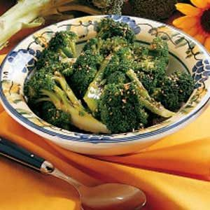 Broccoli with Sesame Recipe
