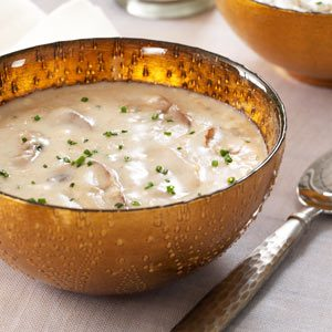 Golden Gouda Mushroom Soup Recipe