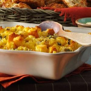 Sage-Roasted Turkey & Corn Bread Stuffing
