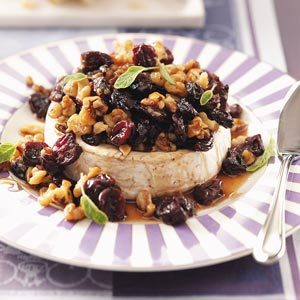 Cherry-Brandy Baked Brie Recipe