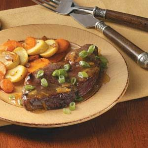 Marmalade-Glazed Steaks Recipe