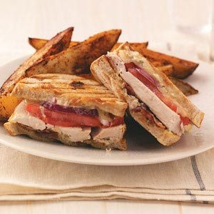 Rotisserie Chicken Panini Recipe