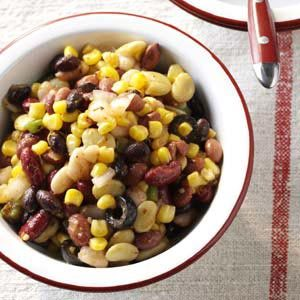 Festive Bean Salad Recipe