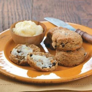 Gingerbread Scones with Lemon Butter Recipe
