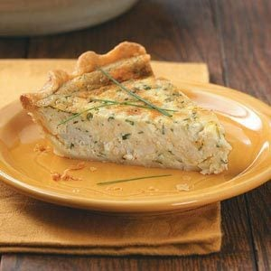 Herb Crab Quiche Recipe