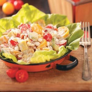 BLT-and-More Salad for Two Recipe