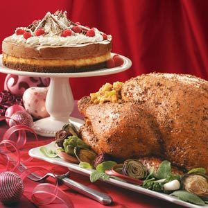 Herbed Turkey with Citrus Dressing Recipe