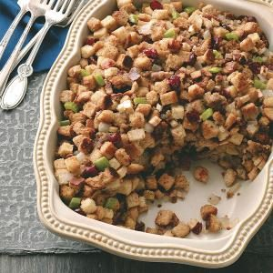 Cranberry Pecan Stuffing Recipe