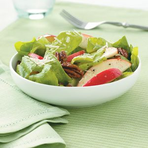 Apple-Pecan Salad with Honey Vinaigrette Recipe