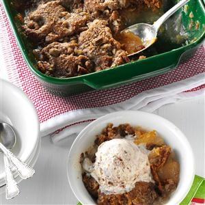 Apple-Pecan Gingerbread Cobbler Recipe