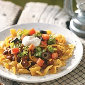 Camping Haystacks Recipe