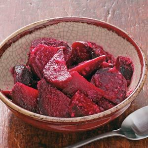 Maple Horseradish Beets Recipe