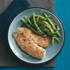 Tilapia with Green Beans Amandine Recipe